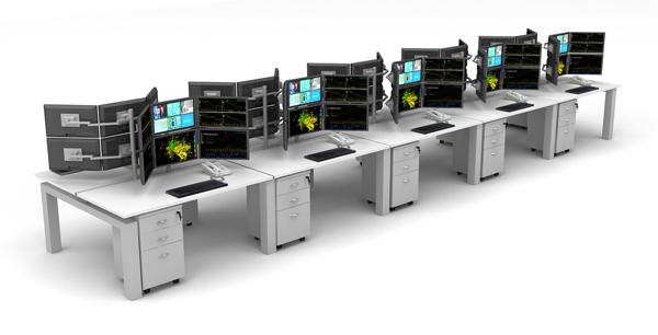 Desking System Manufacturers Delhi Control Desk